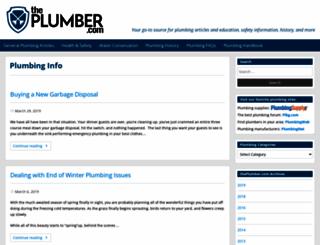 theplumber.com screenshot