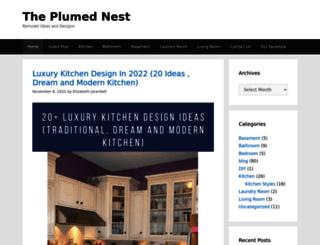 theplumednest.com screenshot