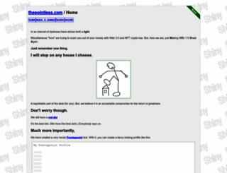 thepointless.com screenshot