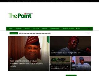 thepointng.com screenshot