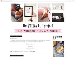 thepolkadotproject.blogspot.de screenshot