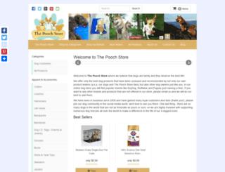 thepoochstore.com screenshot