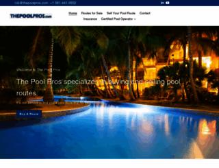 thepoolpros.com screenshot