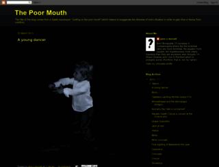 thepoormouth.blogspot.com screenshot