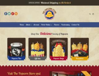 thepopcornstores.com screenshot