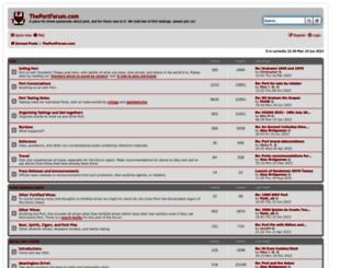 theportforum.com screenshot