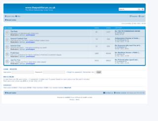 theposhforum.co.uk screenshot
