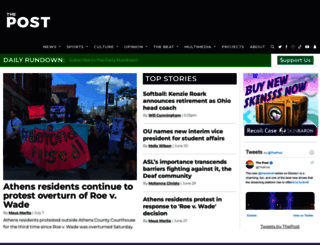 thepostathens.com screenshot
