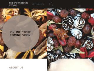 thepotpourristore.com screenshot