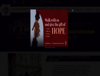 thepottershouse.org screenshot