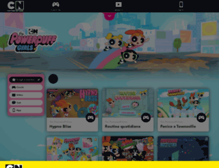 thepowerpuffgirls.cartoonnetwork.it screenshot