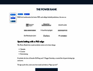 thepowerrank.com screenshot