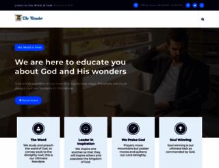 thepreacher.info screenshot