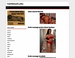 theprenups.org screenshot