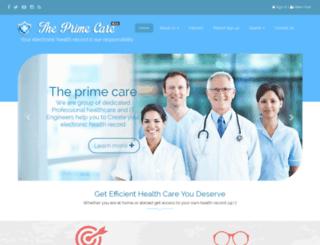 theprimecare.com screenshot