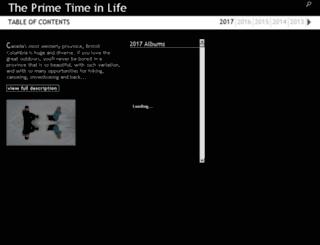 theprimetimeinlife.phanfare.com screenshot