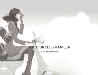 theprincessvanilla.it screenshot