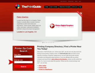 theprintguide.com screenshot