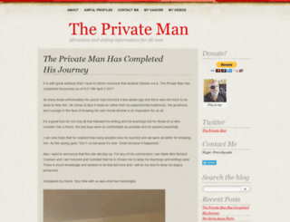 theprivateman.wordpress.com screenshot
