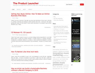 theproductlauncher.net screenshot
