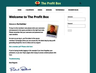 theprofitbox.co.uk screenshot