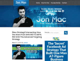theprofitcoach.com screenshot
