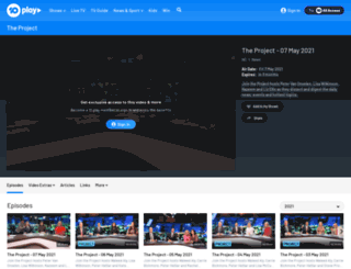 theprojecttv.com.au screenshot