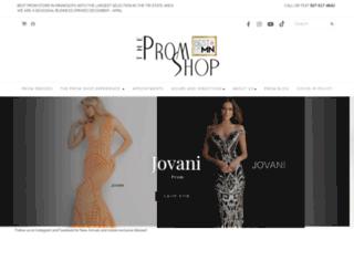 thepromshop.net screenshot