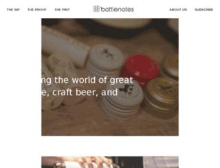 theproof.bottlenotes.com screenshot