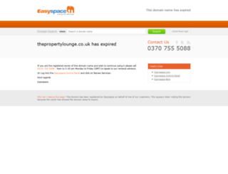 thepropertylounge.co.uk screenshot