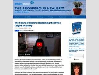 theprosperoushealerblog.com screenshot