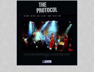 theprotocol.co.uk screenshot