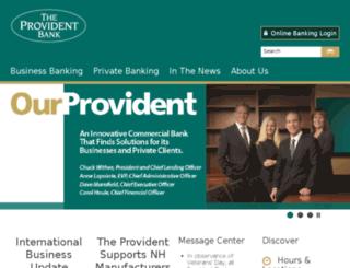 theprovidentonline.com screenshot
