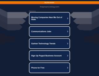 theprsanccblog.com screenshot