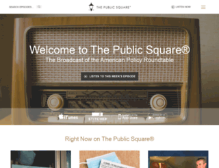 thepublicsquare.com screenshot