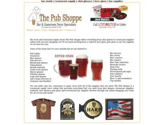 thepubshoppe.com screenshot