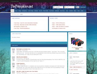 thepumpkins.net screenshot