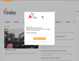 thepunekar.com screenshot