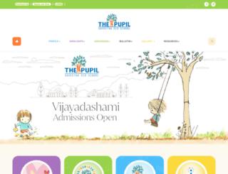 thepupil.in screenshot