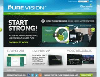 thepurevision.com screenshot