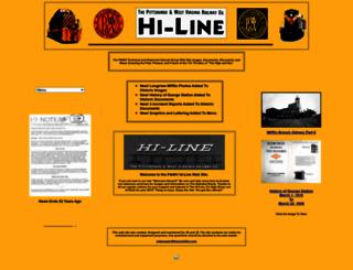 thepwvhiline.com screenshot