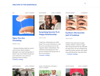 thequeentblog.wordpress.com screenshot