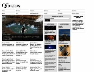 thequietus.com screenshot