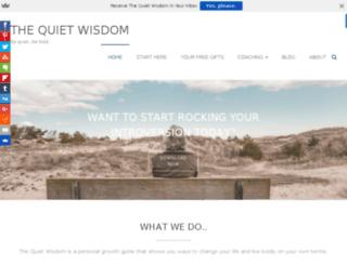 thequietwisdom.com screenshot