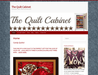 thequiltcabinet.com screenshot