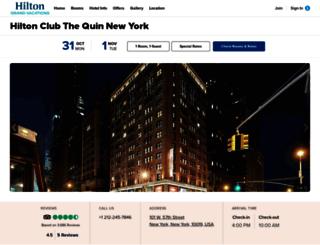 thequinhotel.com screenshot