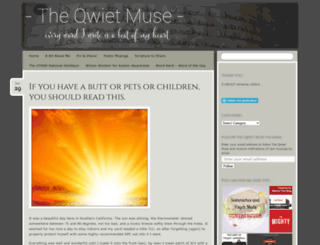 theqwietmuse.com screenshot