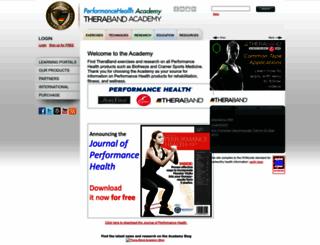 thera-bandacademy.com screenshot