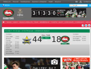 therabbitohs.com.au screenshot