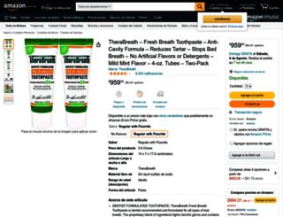 therabreath.com.mx screenshot